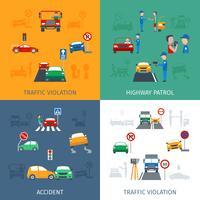 Set di violazione del traffico