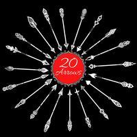 Set di frecce di lavagna