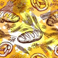 Seamless pattern di grano