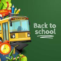 Ritorno a scuola sfondo