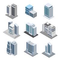 Edificio per uffici isometrico