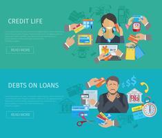 banner vita di credito
