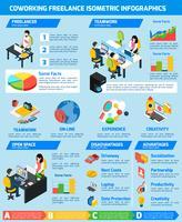 Set infografica freelance