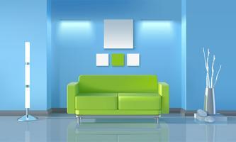 Design moderno del soggiorno