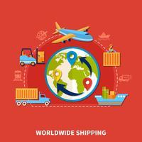Composizione logistica piatta