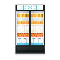 Modello realistico di congelatore