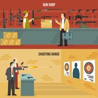 Bandiere di armi da fuoco