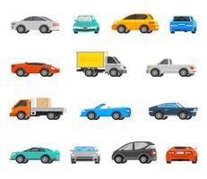 Set di icone di veicoli vettore
