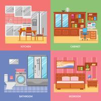 Set da camera interno