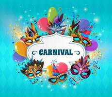 Illustrazione di concetto di Carnevale