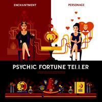 Concetto di Fortune Teller psichico