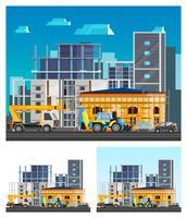 Composizioni per la costruzione di edifici