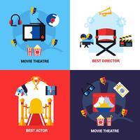 Set di concept design cinematografico