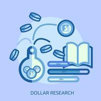 Progettazione concettuale dell'illustrazione di Yen Research