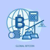 Euro globale concettuale illustrazione design