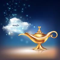 Composizione del vapore della nave magica