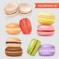 Set di biscotti di mandorla trasparente
