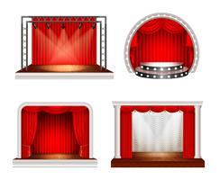 Set di scenografie realistiche
