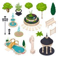 Elementi isometrici per City Landscape Constructor