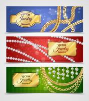 Set di bandiere di gioielli