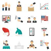 Icone di colore di elezione