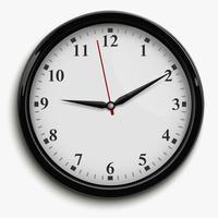 Illustrazione dell'orologio dell'ufficio vettore