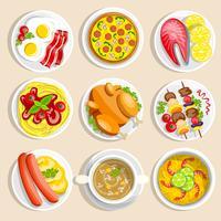 Set di piatti principali