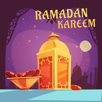 Illustrazione di Iftar del Ramadan