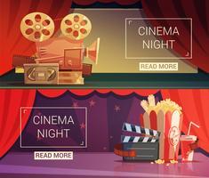 Set di banner cinematografici