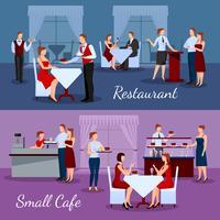 Set di composizioni per catering