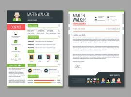 Modello di layout CV