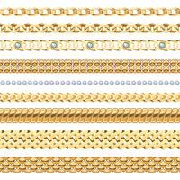 Set di catene di gioielli