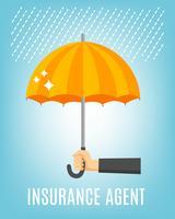 Sfondo agente assicurativo