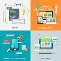 Set di immagini per lo sviluppo di siti Web
