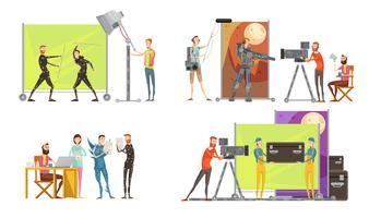 Concetto di creazione di filmati