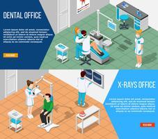 Set di banner soluzioni dentali