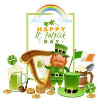 Concetto di Saint Patricks Day vettore