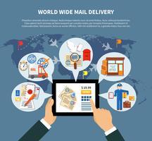 Progettazione online di servizi postali vettore