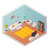 Composizione di design del soggiorno