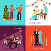Set concetto di partito