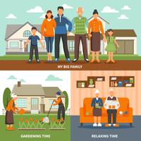 Composizione di attività di persone senior