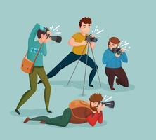 concetto di design dei paparazzi