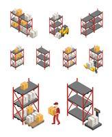 Set di rack di archiviazione