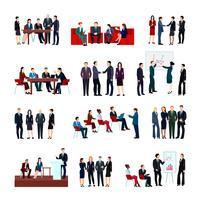 Set riunioni di lavoro