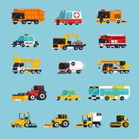 Infografica di trasporto speciale e di emergenza
