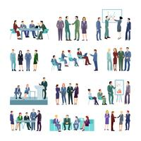 Set di gruppi di conferenza Flat Meeting