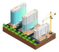 Composizione isometrica di costruzione