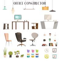 Set di accessori per ufficio moderni