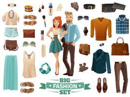 grande set di moda