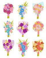 Set di bouquet da sposa